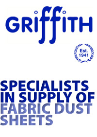 Ernest Griffith & Sons dust sheets logo