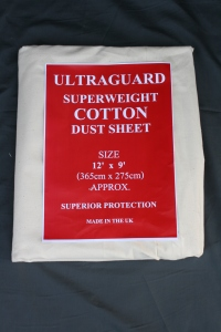 Ultraguard cotton dust sheet