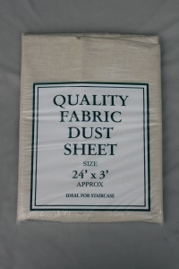 24' x 3' cotton twill or canvas staircase dust sheet